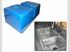 Expressions LTD Concrete Countertop Fiberglass Sink Mold