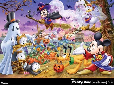 My Free Wallpapers  Cartoons Wallpaper  Disney Halloween