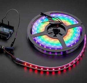 Rgb Led Strip Black 60 Led  Meter Adafruit Neopixel Philippines