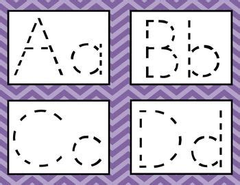 alphabet tracing cards  images alphabet tracing