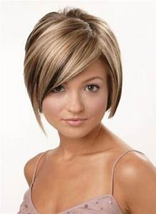 Short Hairstyles With Burgundy Highlights Brown