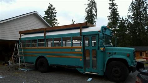 roof deck project school bus conversion resources