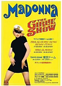 Girlie Show - Madonna's 1993 world tour | Mad-Eyes