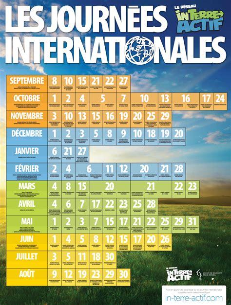 réseau in terre actif journée mondiale de l 39 habitat réseau in terre actif affiche calendrier des journées