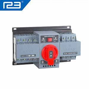 Yuye Manufacturer Manual  Automatic Transfer Switch With