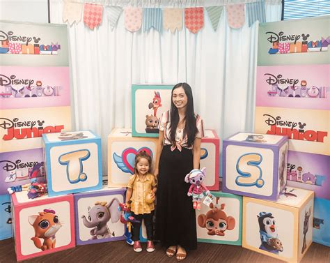 cute   disney jr party  disney show tots review tiffanie anne blog
