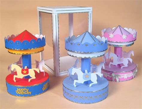 Carousel Book Template by 150 Best Images About Papercraft On Pinterest