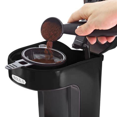 #426 portland, or 97220 #instantpod #coffeemaker #coffee #espresso #instantpot. Amazon.com: BELLA 13930 One Scoop One Cup Coffee Maker, Black: Single Serve Brewing Machines ...