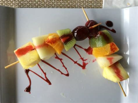 dessert de fruits frais picture of melia tortuga resort spa santa tripadvisor