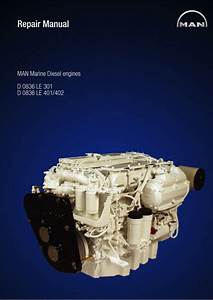 Man Marine Diesel Engine D0836 Le402 Service Repair Manual