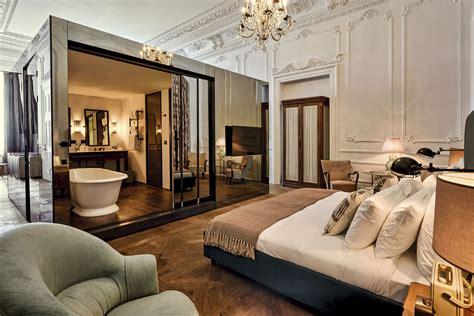 chambre luxueuse une salle de bain ouverte sur la chambre pour ou contre