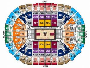 Quicken Loans Seating Chart Cavs Seating Chart Amulette