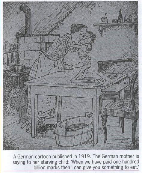 Treaty Of Versailles Source German Cartoon Of The Impact