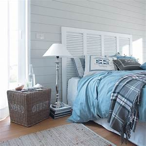 etre au bord de la mer tous les jours couvre lit bleu With meubles blancs style bord de mer 6 blog deco dhelline