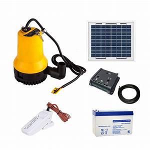 Kit Pompe A Eau : kit solaire 5w pompe eau complet 70 l min avec flotteur ~ Medecine-chirurgie-esthetiques.com Avis de Voitures