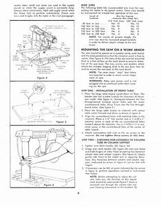 Craftsman 11329410 User Manual Accra Arm 10 Inch Radial