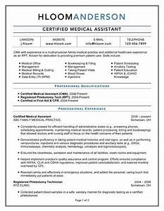 certified medical assistant work work work pinterest With how to make a medical resume