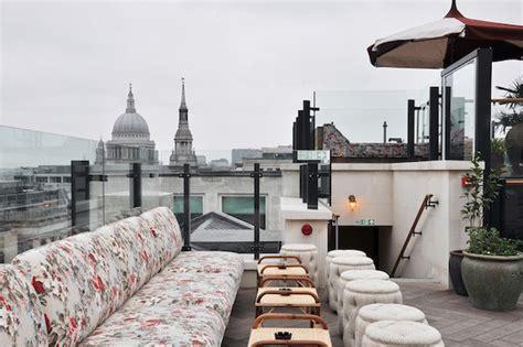 rooftop bars  london  bon vivant journal