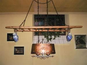 Lampe Mit Eigenen Fotos : lampe mit holzleiter und zwei kr gen in landau lampen ~ Lizthompson.info Haus und Dekorationen