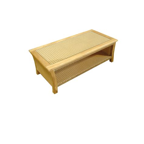 synth rattan table coffee jersey asia concept high