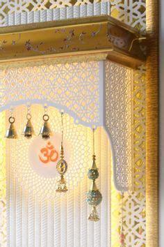 marble  finish mandir  home pooja room design