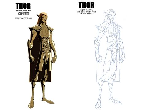 animated thor  hammer dvd competition