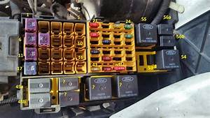 Fuse  Relay Panel Under Hood Doesn U0026 39 T Match Manual