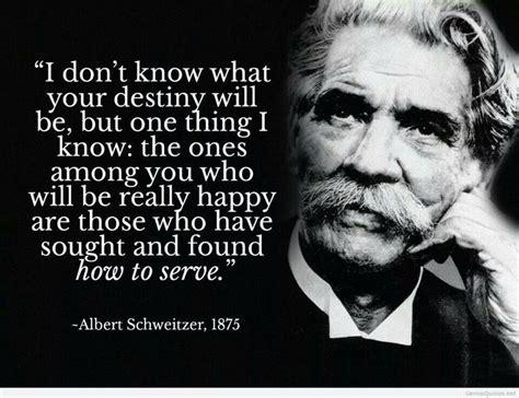 Albert Schweitzer Quotes Quotes On Service Albert Schweitzer Quotesgram