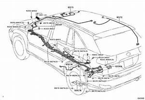 Lexus Rx 400h Wire  Instrument Panel  Clamp  Engine