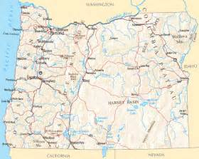 Oregon Map - Map of Oregon Oregon