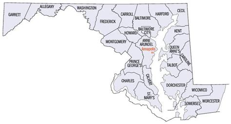 list  counties  maryland simple english wikipedia