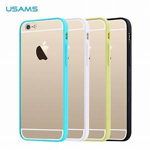 USAMS Apple iPhone 6 TPU Case + Frame PC Colors Ultra Thin ...