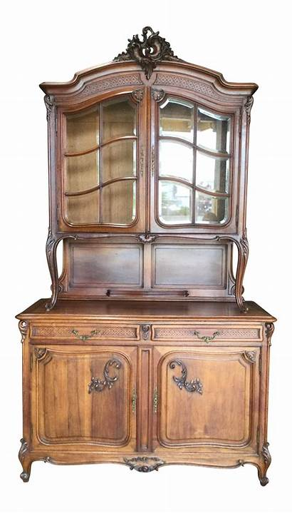 Furniture French Traditional Century 19th Walnut Buffet