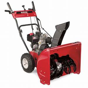Yard Machines 24 U0026quot  Two-stage Snow Thrower