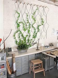 Plantes Grimpantes Mur : anno la treille murale modulable jardinage pinterest ~ Melissatoandfro.com Idées de Décoration