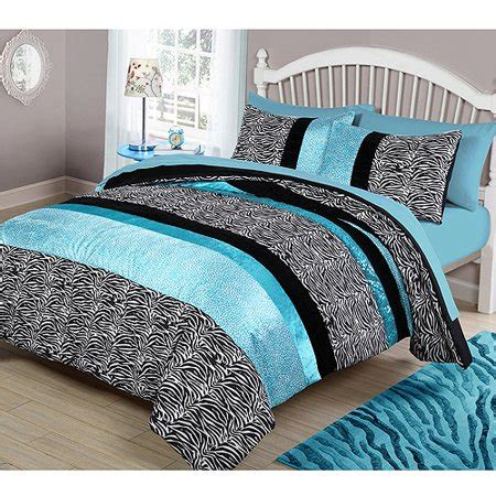 zone zebra bedding comforter set walmartcom