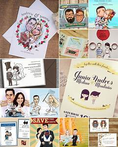 caricature wedding invitations and cards With caricature wedding invitations online free