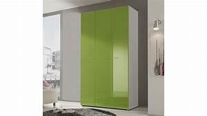 Kleiderschrank 120 Cm : kleiderschrank smart kiwi gr n hochglanz wei 120 cm ~ Indierocktalk.com Haus und Dekorationen