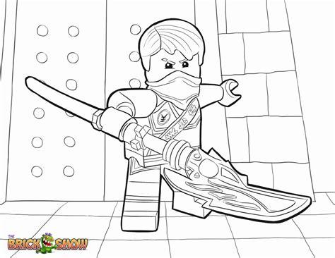 Lego Ninjago Kai Printable Coloring Pages