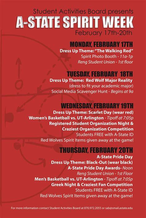 celebrate pack pride  student activities board