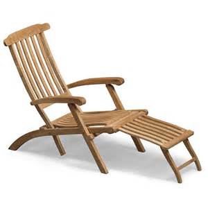 steamer deck chair teak skagerak horne