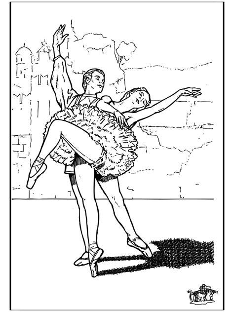 Ballet Kleurplaat by Ballet 9 Kleurplaat Ballet