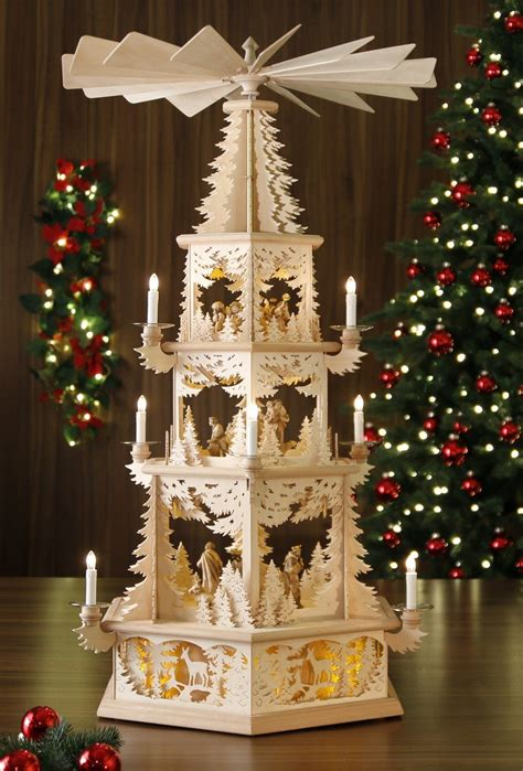 Weihnachtsdeko Holz Erzgebirge by Elektrische Weihnachtspyramide Tilgner Pyramide