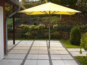 verkaufe gebrauchten alu top mittelstockschirm glatz With französischer balkon mit camping sonnenschirm