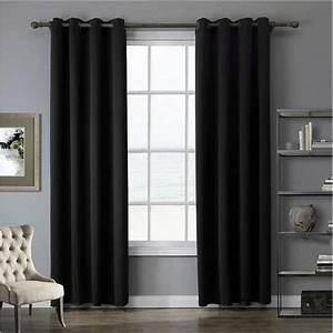 Ou Acheter Des Rideaux : acheter rideaux doublure thermique rideau d coration noir pas cher ~ Teatrodelosmanantiales.com Idées de Décoration