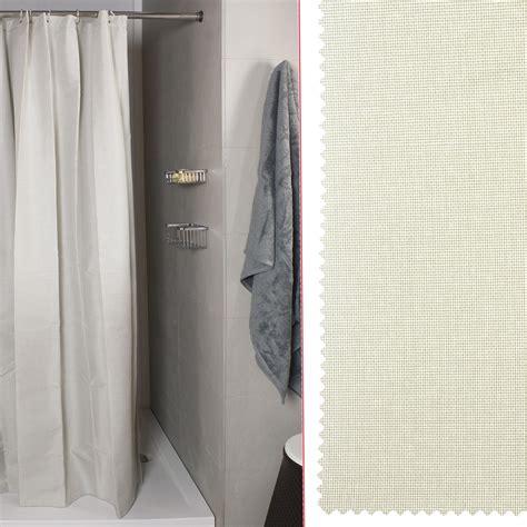 tenda doccia tenda doccia per vasca linum naturale misura 240x200 koh