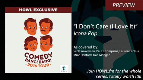 I Don't Care (icona Pop Cover)