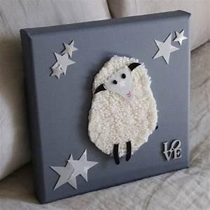 Cadre Chambre Enfant : cadre moutons chambre bebe visuel 4 ~ Teatrodelosmanantiales.com Idées de Décoration