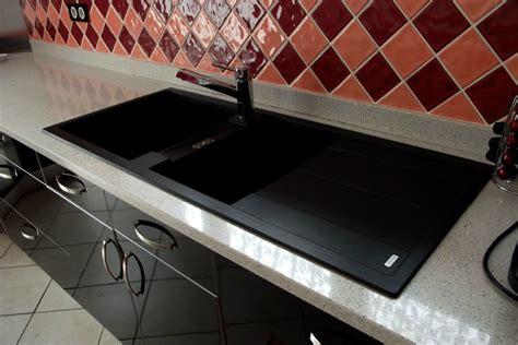 plan de travail cuisine bricoman cuisine stratifié noir brillant menuiserie sébastien duc