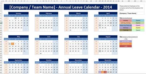 excel spreadsheet employee staff holiday sickness